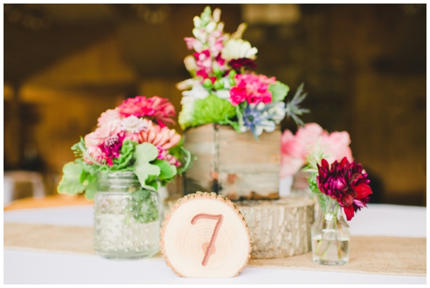 rustic centerpiece