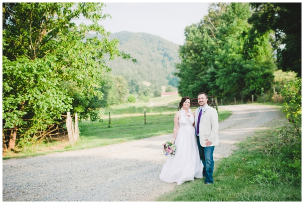 outdoor north carolina wedding
